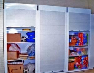Мебельные двери-рольставни для шкафа: цена
