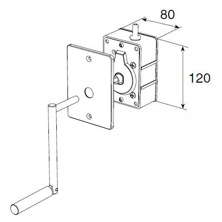 Укладчик для корда редукторный RHF80
