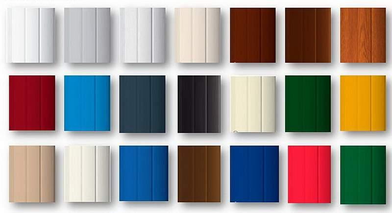 Цвет ролет — прекрасная возможность подчеркнуть красоту здания