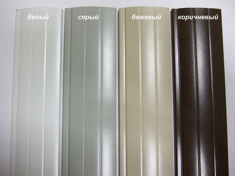 Варианты цветовых решений для различных зданий