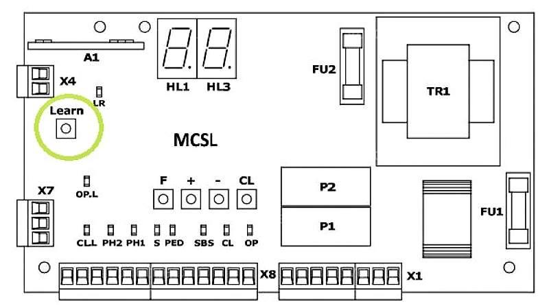Как запрограммировать пульт от роллет AN Motors в Севастополе