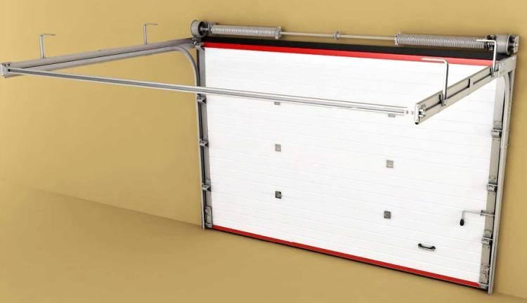 Поломки и неисправности в пружинных механизмах секционных ворот